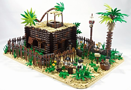 Captain Flint's Hideout