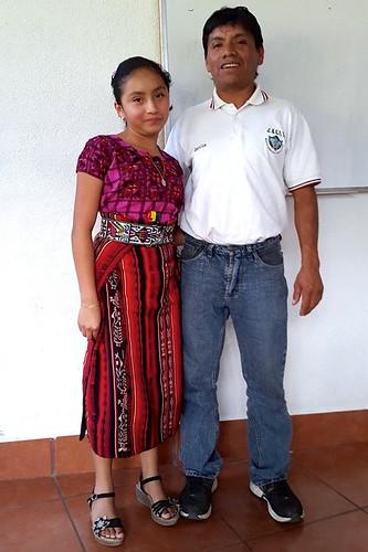Lucia Garcia Toc y padre