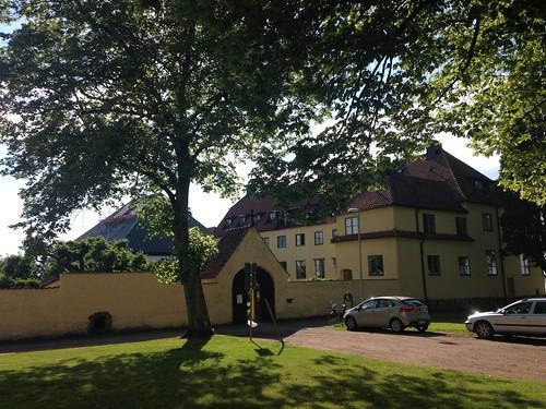 The monastery of St. Bringitas in Vadstena