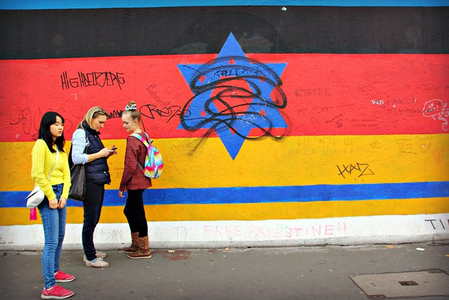 East Side Gallery - Berliinin muuri