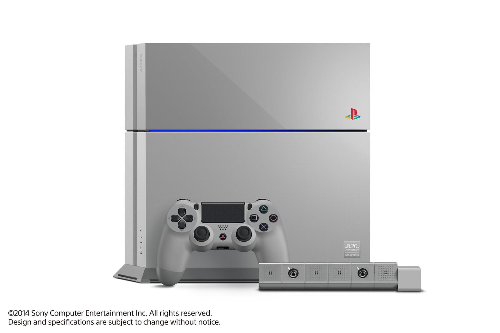 PS4 20th Anniversary Edition
