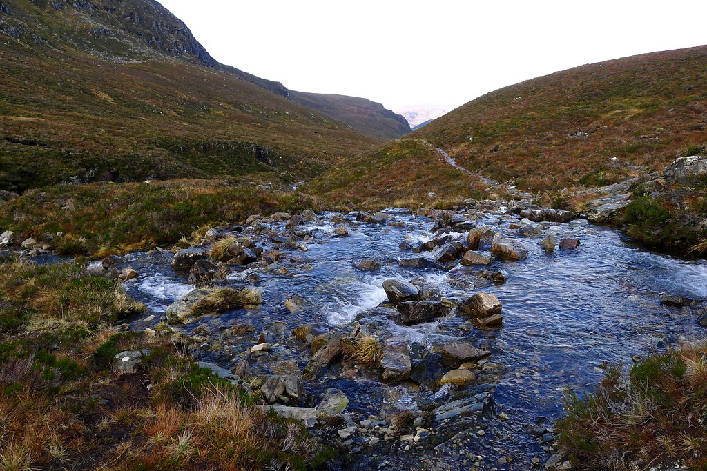 River crossings in Gleann na Sguaib