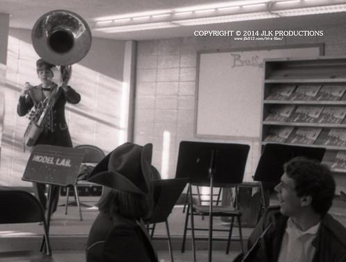 Tri-X Files 84_30.16a: Kurt and the Sousaphone