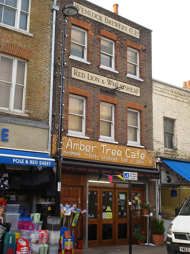 Amber Tree Cafe, Deptford, London SE8