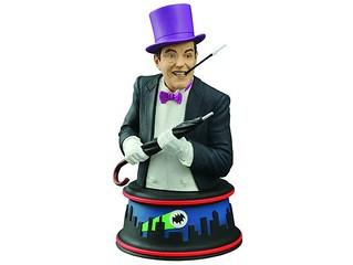 Diamond Select Toys – 1966 蝙蝠俠 電視影集版【企鵝人】The Penguin 半身胸像