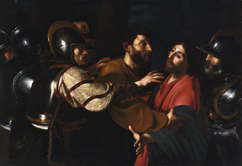 Bartolomeo Manfredi - The Capture of Christ