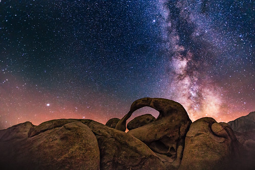 Mobius Arch at Night, Unlighted