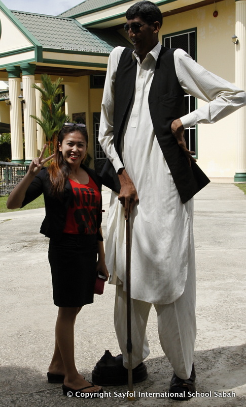Ajaz Ahmed Tallest Man
