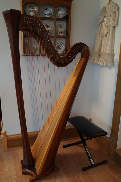 A Broken Harp {Repaired} --Seven Sisters Blog