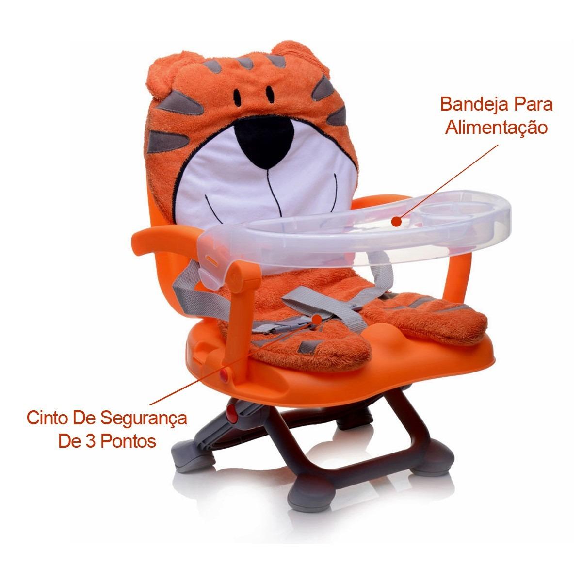 Cadeira de Alimentação Portátil Bichinho Tigre Dican #B73D14 1200x1200
