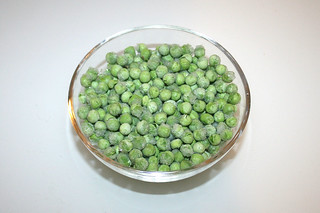 09 - Zutat Erbsen / Ingredient peas