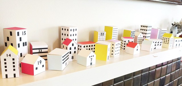 Advent calendar from Mr. Printables