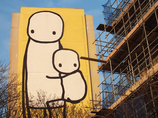 Stik Street Art in Acton