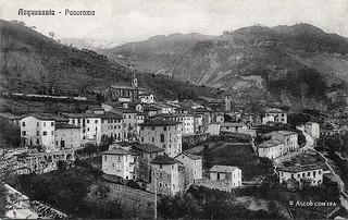 Ascoli com'era: Acquasanta Terme, panorama (<1915)