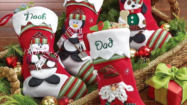 Personalized Dog Christmas Stocking Uk