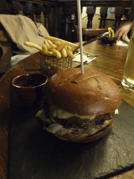 Hobson's burger