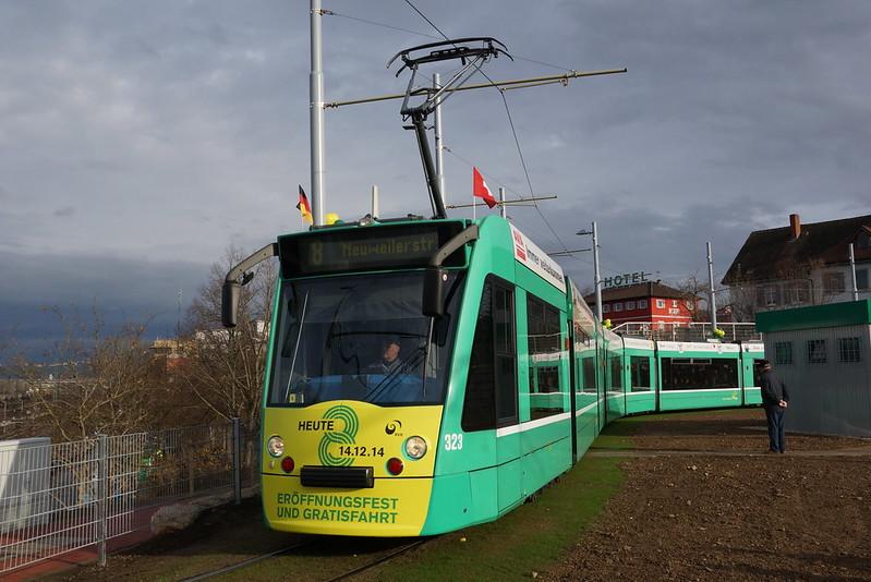 2014-12-14, BVB, Weil am Rhein, Bahnhof/Zentrum