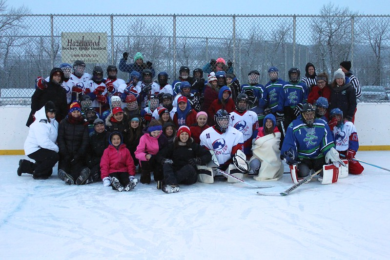2015-01 212 Friends First Outdoor Tournament - on rink