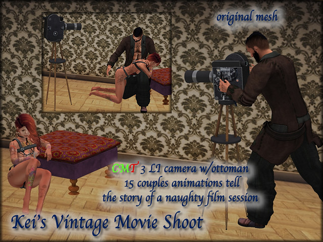 Kei's Vintage Movie Shoot - BoxedPIC