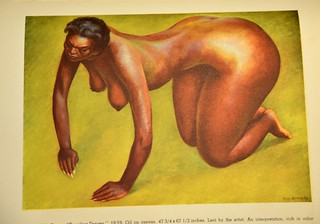 Diego Rivera - Kneeling Dancer, 1939