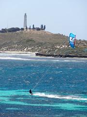Rottnest - kite surfer II