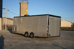 intech trailers #3328 aluminum car hauler