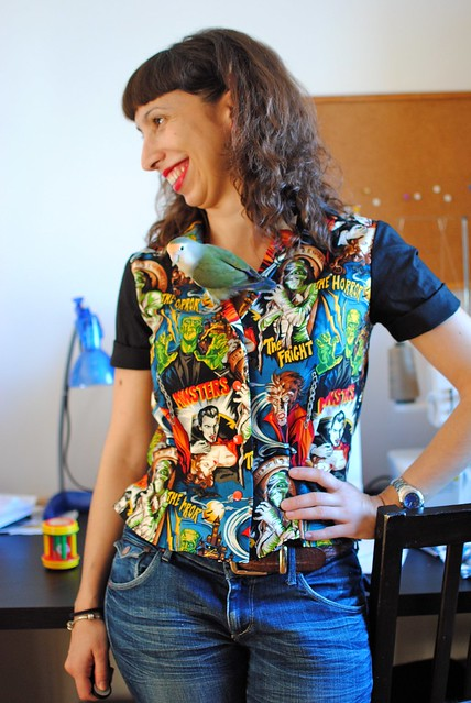 Monsters Blouse