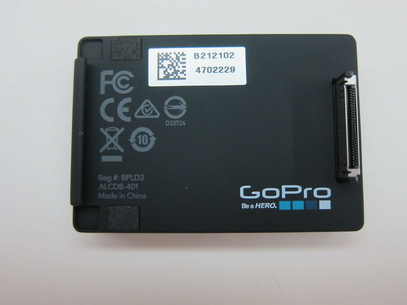 GoPro LCD Touch BacPac - LCD Back