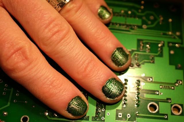 PCB Nail art