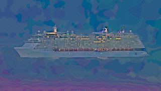 Celebrity Cruises Reflection hitting the Bermuda Triangle?