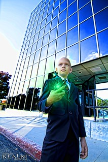 Lex Luthor cosplay