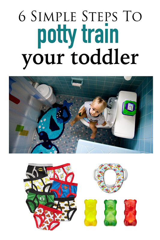 6 Simple Steps to Potty Training your Toddler