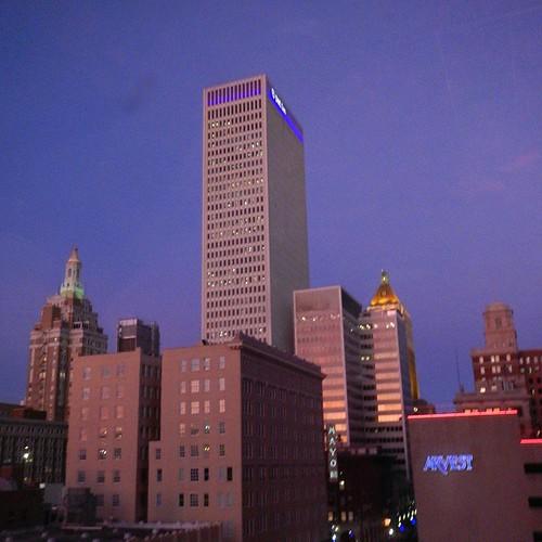 #downtowntulsa #dusk #reflections #glass #cityscape #myoklahoma #tulsa #oklahoma #igersok