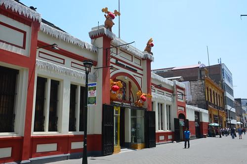 Blick in das chinesische Viertel Limas