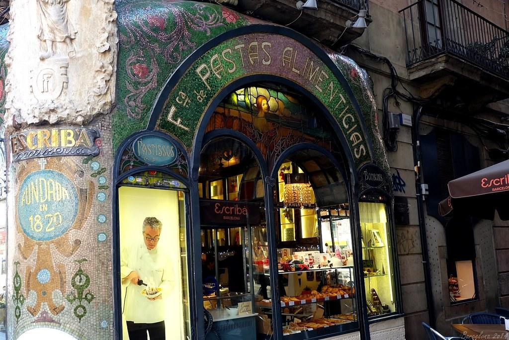 Barcelona day_3, Escribà, Les Rambles, 83