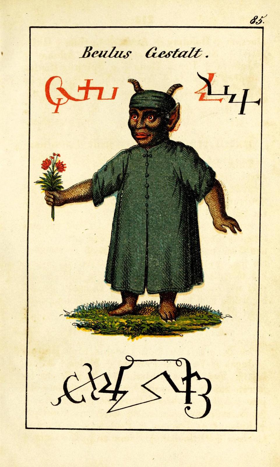 Johann Scheible - Doktor Johannes Faust's Magia naturalis et innaturalis, 1849 (12)