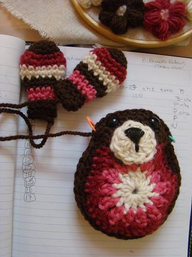 crochet bunny wip