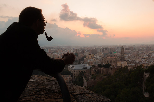 Reflecting - Malaga, Spain