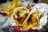 Chorizo Egg Taco & Bacon Cheese Burger Taco - Garcia's