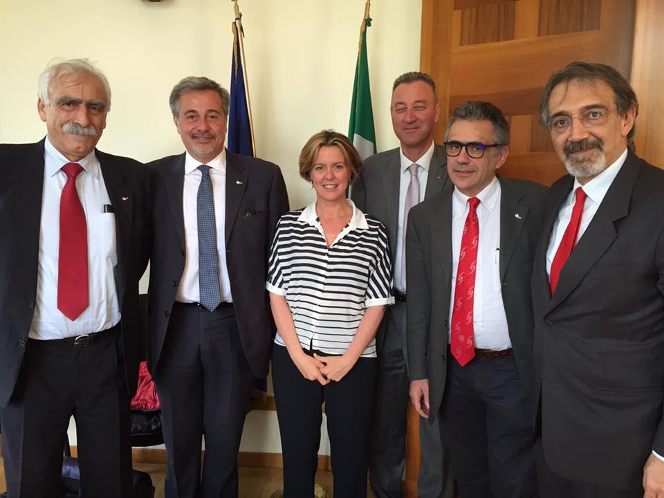 Anpas incontra il ministro della Salute Lorenzin