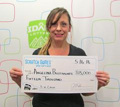 Angelina Bustamonte - $15,000 5X Cash