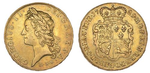 East India Company 5 guineas