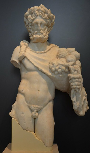 Statue of Silvanus, god of woods and wild fields, 1st century AD, National Archaeological Museum of Spain, Madrid