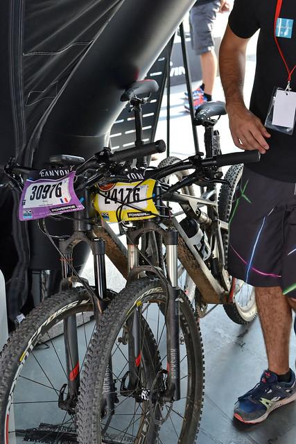 Vélos du Roc Marathon des gars de Btwin