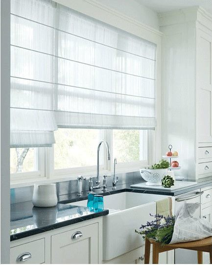 Roman Blinds - Light Filtering