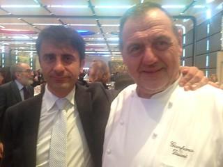 Boccardi con lo chef Vissani