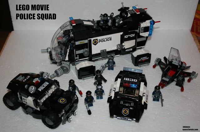 Lego Movie Police Squad