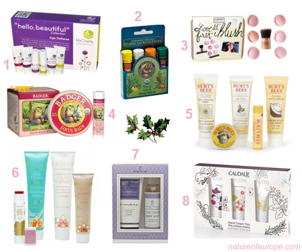 Organic Beauty Holiday Gift Sets Under 20