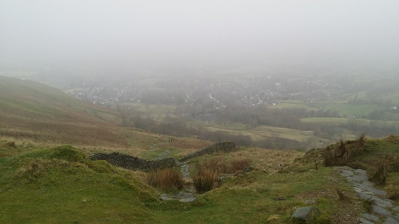 Looking back to Ambleside #sh
