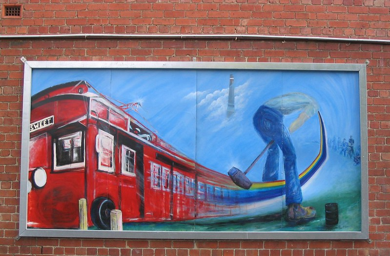 Trugo mural, Yarraville, December 2004